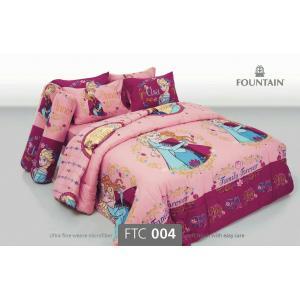 ชุดเครื่องนอน ผ้าปุที่นอนลายเจ้าหญิง FTC004