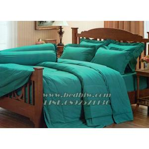 ชุดเครื่องนอน ชุดผ้าปูที่นอน สีพื้น ยี่ห้อ เจสสิก้า สีเขียว Green