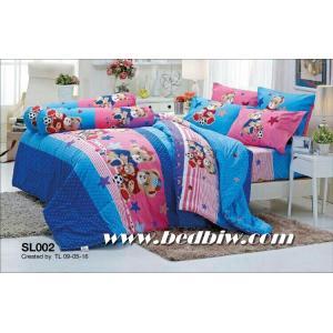 ชุดเครื่องนอน ผ้าปูที่นอน ลายธรรมดา รหัส SL002