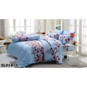 ชุดเครื่องนอน ผ้าปูที่นอน ทิวลิป-พิมพ์ลาย รหัส SL014