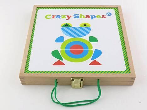 กระดานรูปทรงหรรษา Crazy shapes Eureka KIDS