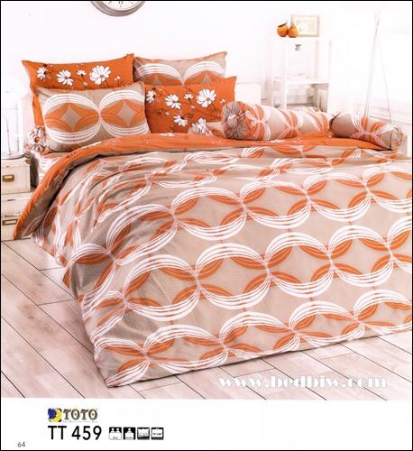 ชุดเครื่องนอน ผ้าปูที่นอน toto TT459