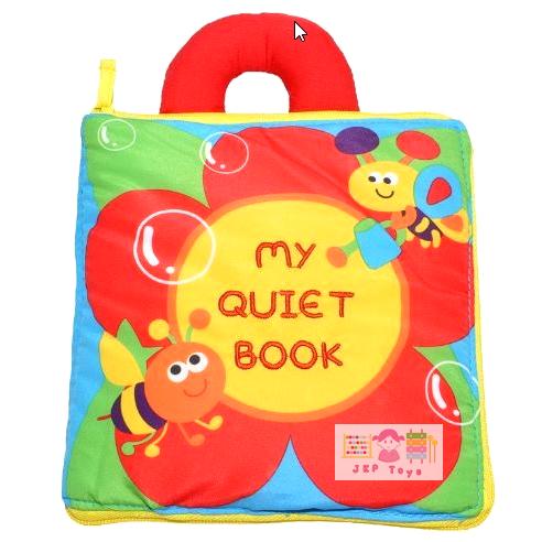 หนังสือผ้าเสริมพัฒนาการ My Quiet Book