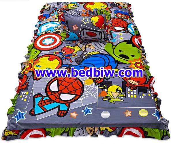 ที่นอนปิคนิค ลายมาเวลคาวาอิ Marvel Kawaii KW06