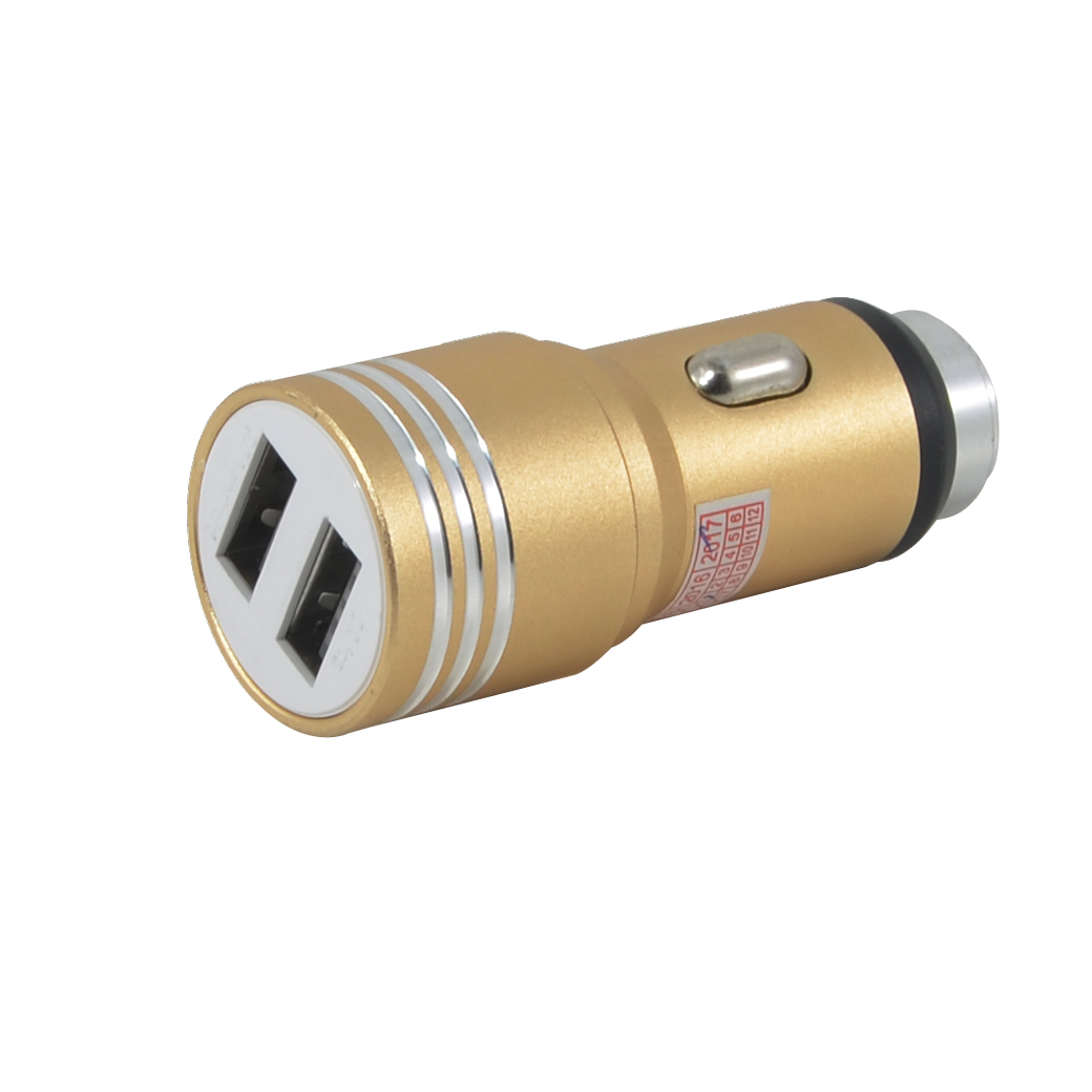 CarCharger 2.1A/1AWithHammer