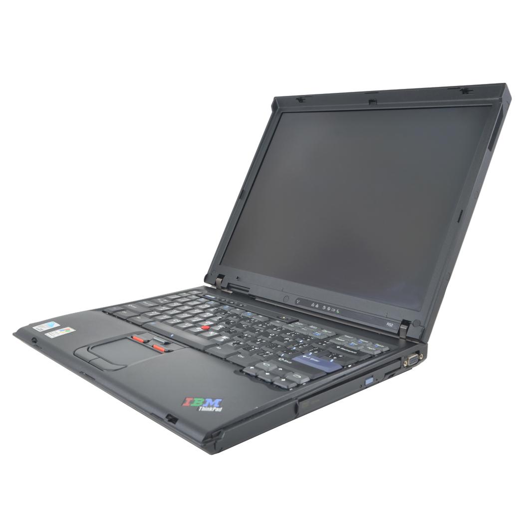 โน๊ตบุ๊คมือสอง IBM รุ่นR52 Pentium M @1.73 Ram2 HD160 จอ14
