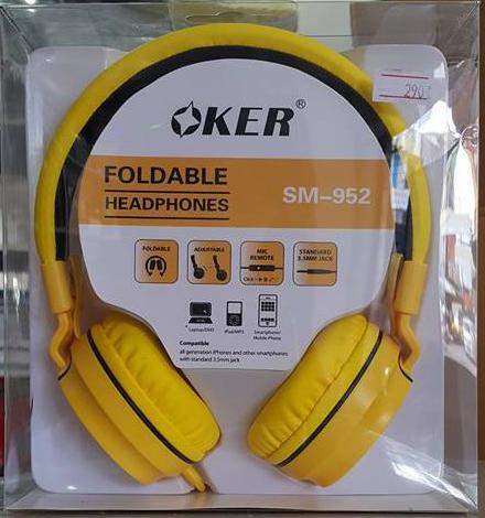 หูฟัง oker รุ่น sm-952