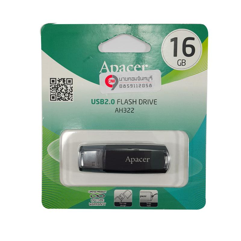 Flashdrive Apacer รุ่น AH322 16 GB