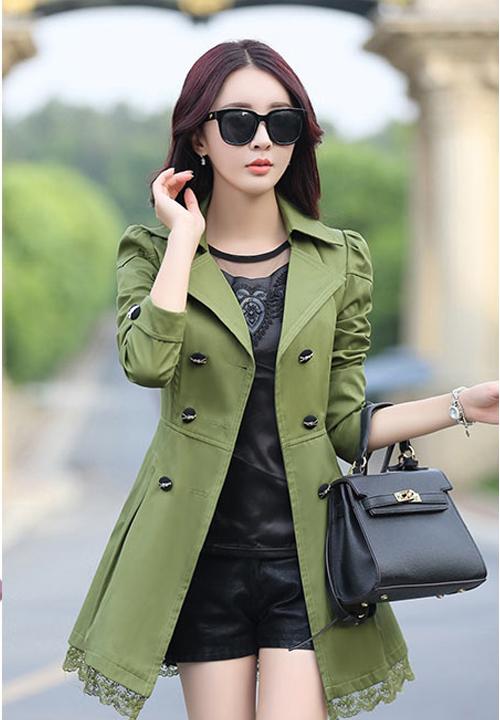 เสื้อคลุมสีเขียวสวยๆราคาถูก