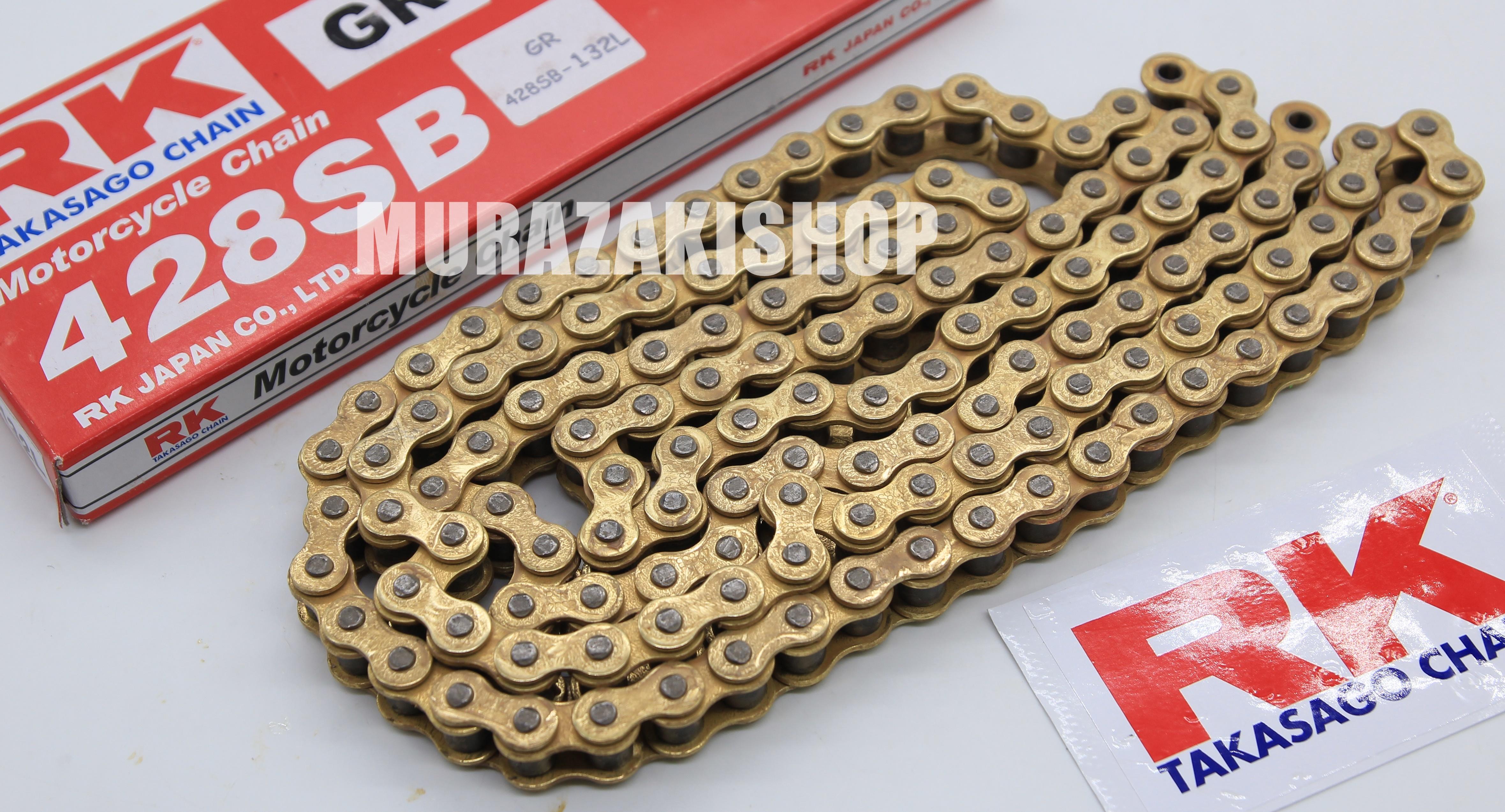 โซ่ RK 428 โซ่ RK ทองนอกใน ราคา720
