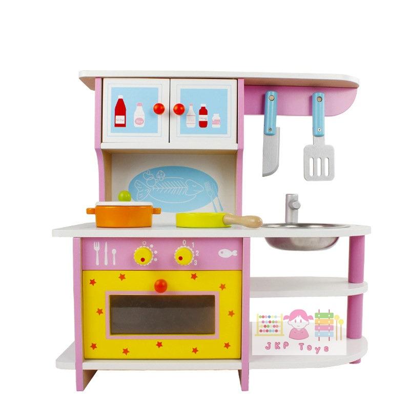 ชุดครัว พร้อมเตาอบ ตู้ใส่ของเเละซิ้งค์ล้างจาน