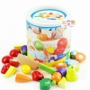 ชุดหั่นผัก ผลไม้ ในถัง 11 ชนิด