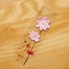Post it โพสต์อิทเกาหลีลายดอกดาวกระจาย-สีชมพู