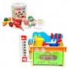 JKP Toys ของเล่นไม้เสริมพัฒนาการ เซทเชุดครัวมินิพร้อมเตาอบ + หั่นผัก ผลไม้