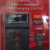 Portable USB Charging Station 4 Ports ยี่ห้อ OKER