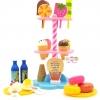 ชุดของเล่นไอศครีม พร้อมชั้นวางสำหรับเล่นขายสินค้า Dessert Ice-cream