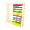 ของเล่นไม้เสริมพัฒนาการ ลูกคิด 10 แถว สอนนับเลข ขนาดเล็ก ใช้ตัั้งโต๊ะเล่นได้