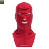โม่งคลุมหัว สีแดง แบบปิดทั้งหน้า ป้องกันแดด ป้องกันรังสี UV