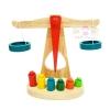 ของเล่นไม้เสริมทักษะ ตาชั่งไม้สอนเรื่องน้ำหนัก ความสมดุล