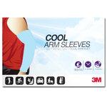ปลอกแขนกันแดด 3M สีฟ้าอ่อน ปลอกแขนกัน UV 99% 3M แท้ Made in Korea