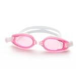 แว่นตาว่ายน้ำสีชมพู