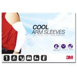 ปลอกแขนกันแดด 3M สีขาว ปลอกแขนกัน UV 99% Made in Korea