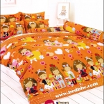 toto ผ้าปูที่นอน ลายการ์ตูนเด็กผู้หญิงน่ารัก TT512