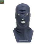 โม่งคลุมหัว สีเทา แบบปิดทั้งหน้า ป้องกันแดด ป้องกันรังสี UV
