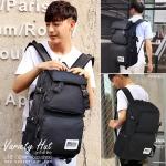 กระเป๋าเป้ใบใหญ่ Backpack กระเป๋าเป้เดินทางใช้ได้ทั้งชาย-หญิง (สีดำ)