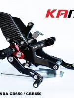 ชุดเกียร์โยง CNC พรีเมี่ยม สำหรับ Honda CB/CBR 650 ชุดเกียร์โยงจาก Kamui - ผลิตจากวัตถุดิบคุณภาพสูง - ด้วยกรรมวิธี 3D ทำให้ชิ้นงานมีความละเอียดสวยงาม - มีความสวยงาม แข็งแรง ทนทาน - ใช้น็อตสแตนเลสทุกชิ้น - แป้นพักเท้าสีแดง โดดเด่น สามารถปรับตำแหน่งได้ถึง 8