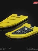 พักเท้าหลัง CNC 2 ชิ้น GTR FORZA-300