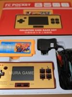 Famicom pocket พกพาไปเล่นได้ เสียบทีวีได้ มีเกมส์ในเครื่อง89เกมส์แถม1ตลับ ราคา1200