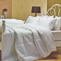 ชุดเครื่องนอน Jessica สีพื้น cotton100% ซิลค์ซายน์ สีWhite (สีขาว)