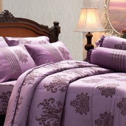 ชุดเครื่องนอน ผ้าปูที่นอน JESSICA Cotton 100% พิมพ์ลาย ดอกไม้ C1008 ใหม่ล่าสุด