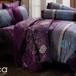 ชุดเครื่องนอน ผ้าปูที่นอน JESSICA Cotton 100% พิมพ์ลาย C1002 ใหม่ล่าสุด