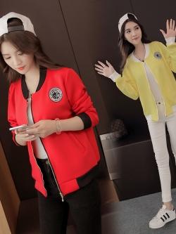 เสื้อคลุมกันหนาว สีแดงและสีชมพูอ่อน แขนยาว มีซิปด้านหน้า