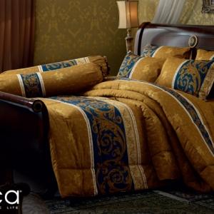 ชุดเครื่องนอน ผ้าปูที่นอน JESSICA เนื้อผ้า Cotton 100% พิมพ์ลาย คลาสสิค รุ่นC997