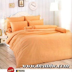 ชุดเครื่องนอนTOTO ชุดผ้าปูที่นอนTOTO สีพื้น สีแซมเปญ