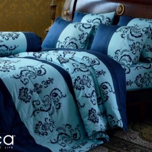 ชุดเครื่องนอน ผ้าปูที่นอน JESSICA เนื้อผ้า Cotton 100% พิมพ์ลาย คลาสสิค รุ่นC995