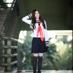 ชุดคอสเพลย์Cosplay นักเรียนญี่ปุ่น เสื้อ+กระโปรง