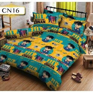 ชุดเครื่องนอน-ผ้าปูที่นอน ลายการ์ตูนโคนันยอดนักสืบ CN16