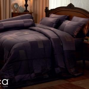 ชุดเครื่องนอน ผ้าปูที่นอน JESSICA เนื้อผ้า Cotton 100% พิมพ์ลาย กราฟฟิก รุ่นC990