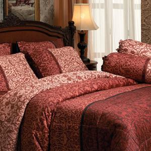 ชุดเครื่องนอน ผ้าปูที่นอน JESSICA Cotton 100% พิมพ์ลาย C1004 ใหม่ล่าสุด