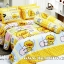 ชุดเครื่องนอน ผ้าปูที่นอน ลายการ์ตูน เป็ดเหลืองคาโมะ รหัส SL517 สำเนา
