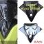 ครอบใต้ชิลด์ Yamaha Aerox สีเงา เครฟล่า ราคา450 thumbnail 1