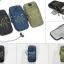 กระเป๋ารัดแขนวิ่ง สีดำ Armband 2ซิป ใส่โทรศัพท์ได้ทุกรุ่น thumbnail 2