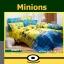 ชุดเครื่องนอน ผ้าปูที่นอน ลายมินเนี่ยน Minions MN011