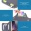 สายรัดแขนวิ่ง สีฟ้า Armband ใส่โทรศัพท์หน้าจอ 4.7 นิ้ว thumbnail 3