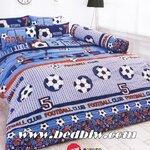 ชุดเครื่องนอนtoto ชุดผ้าปูที่นอนtoto ลายฟุตบอล Trendy รุ่นTT485